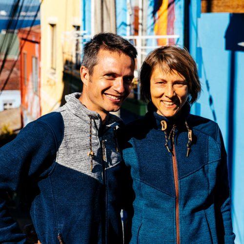 Pascale Sury et Jonathan Bradfer